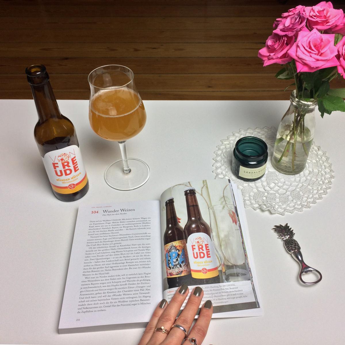 Bierführer Craft Bier mit Wunder Weizen