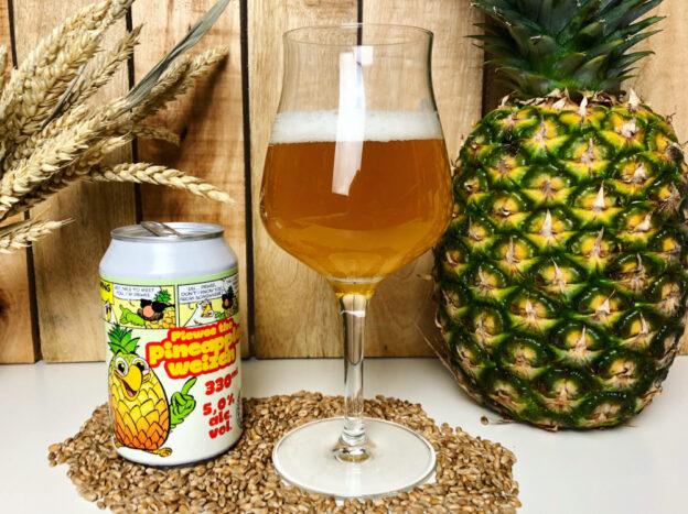 Pineapple Weizen im Glas