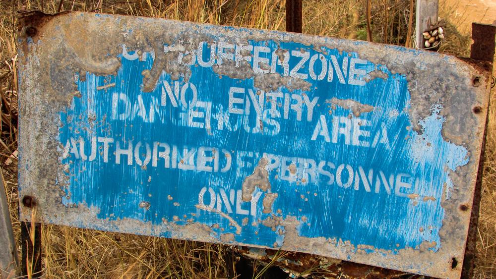 Entmilitarisierte Zone in Nikosia