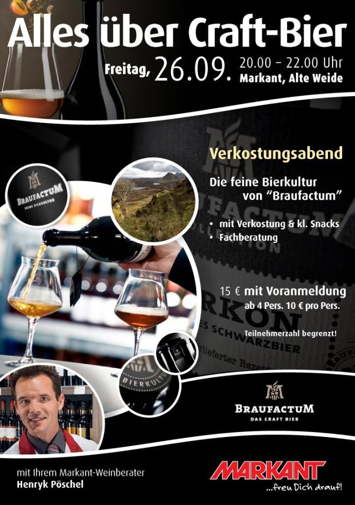 Alles über Craft-Bier - Markant